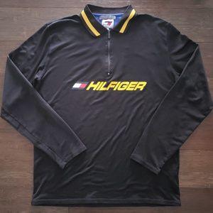 Tommy Hilfiger Vintage Long Sleeve Shirt 1/4 Zip